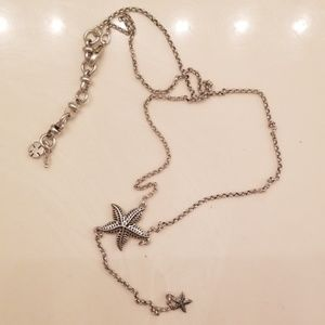 Lucky Brand Starfish Necklace